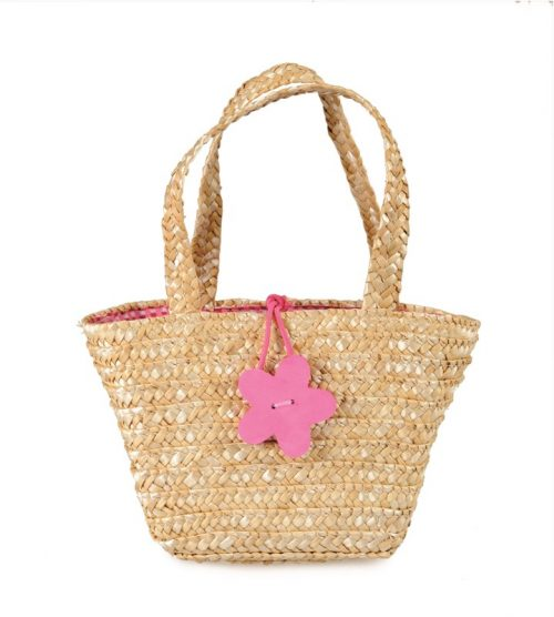 SHOPPING BAG PINK FLOWER