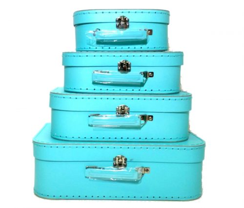 Set of 4 Suitcases Mint