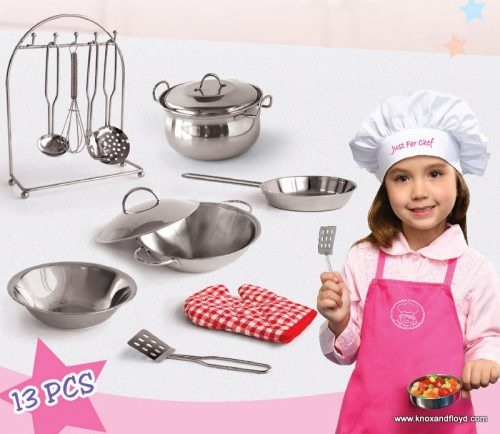 Cookware set in Suitcase 13 Piece