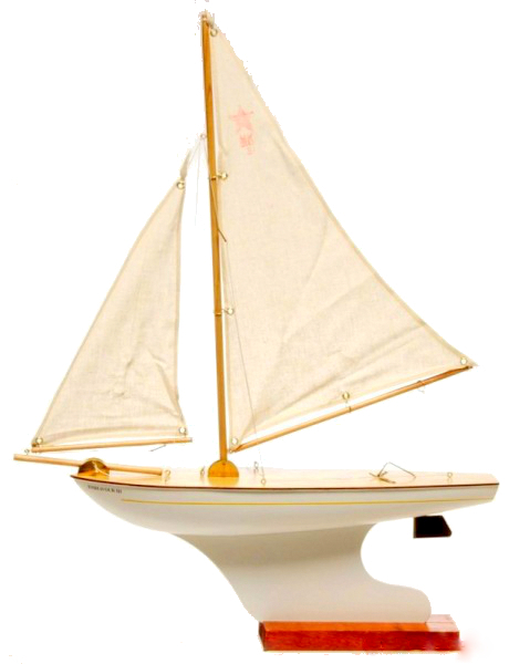 Sailboat with Rudder