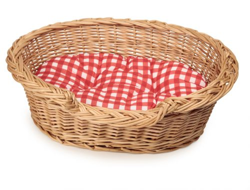 BASKET  TOY DOG