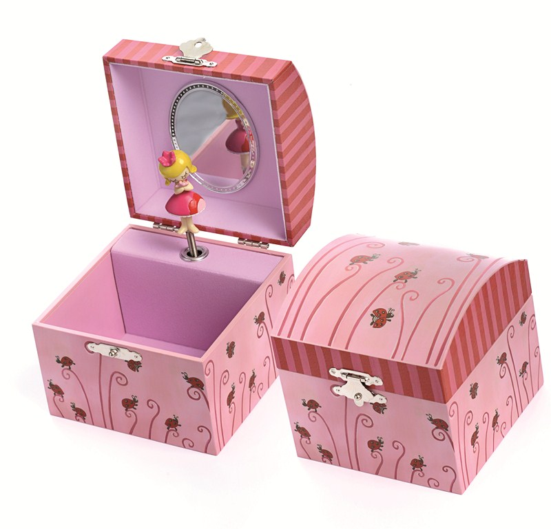 MUSICAL JEWELRY BOX LADYBUG