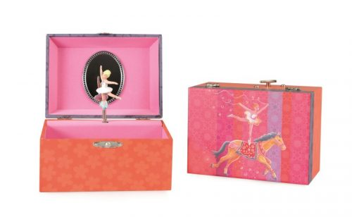 MUSICAL JEWELRY BOX CIRCUS RIDER