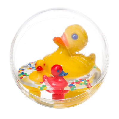 Baby bath toy- water ball, large duck family