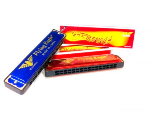 Harmonica  RED OR BLUE