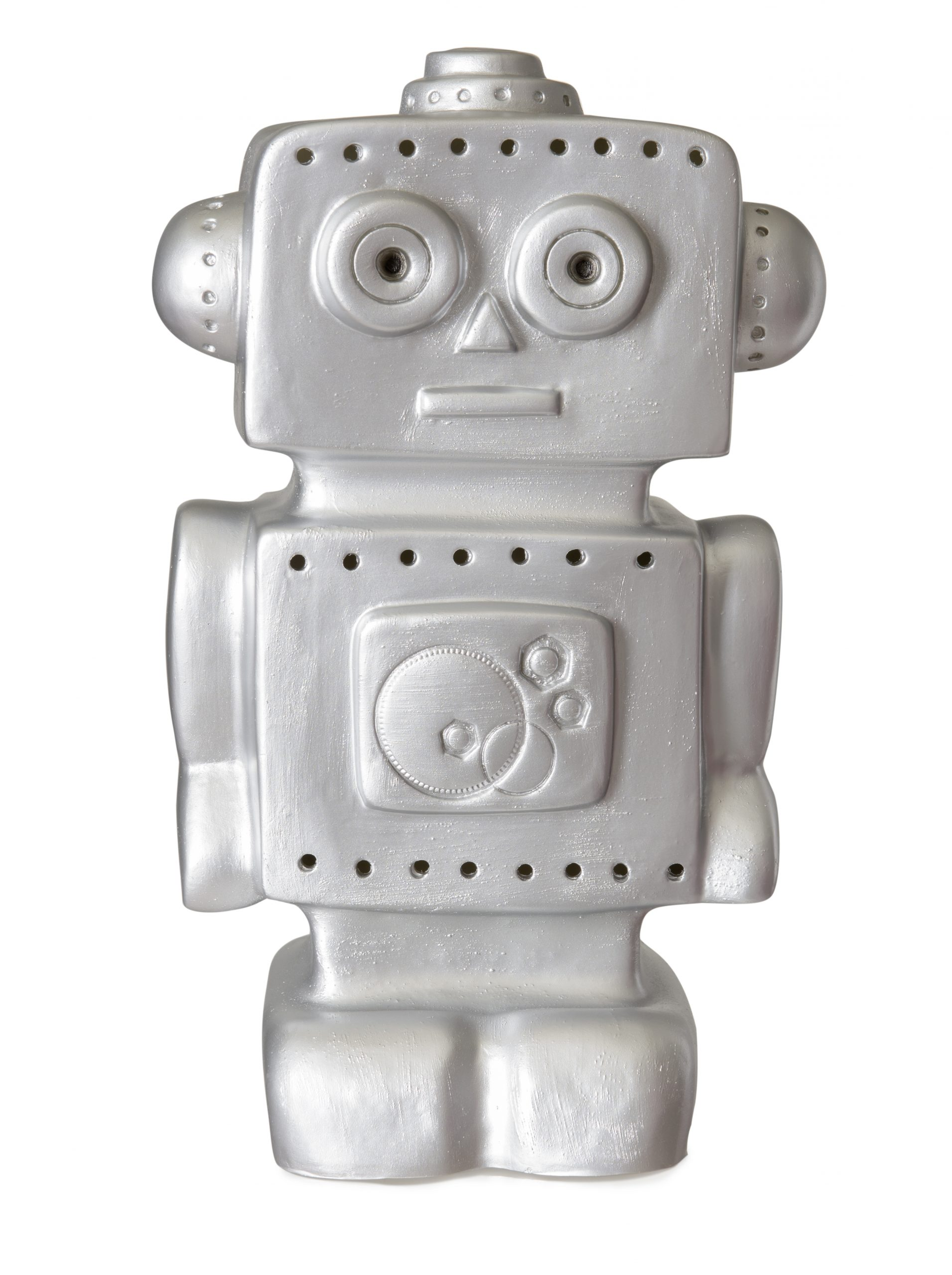 NEW LAMP ROBOT SILVER AVAILABLE IN MAY 15