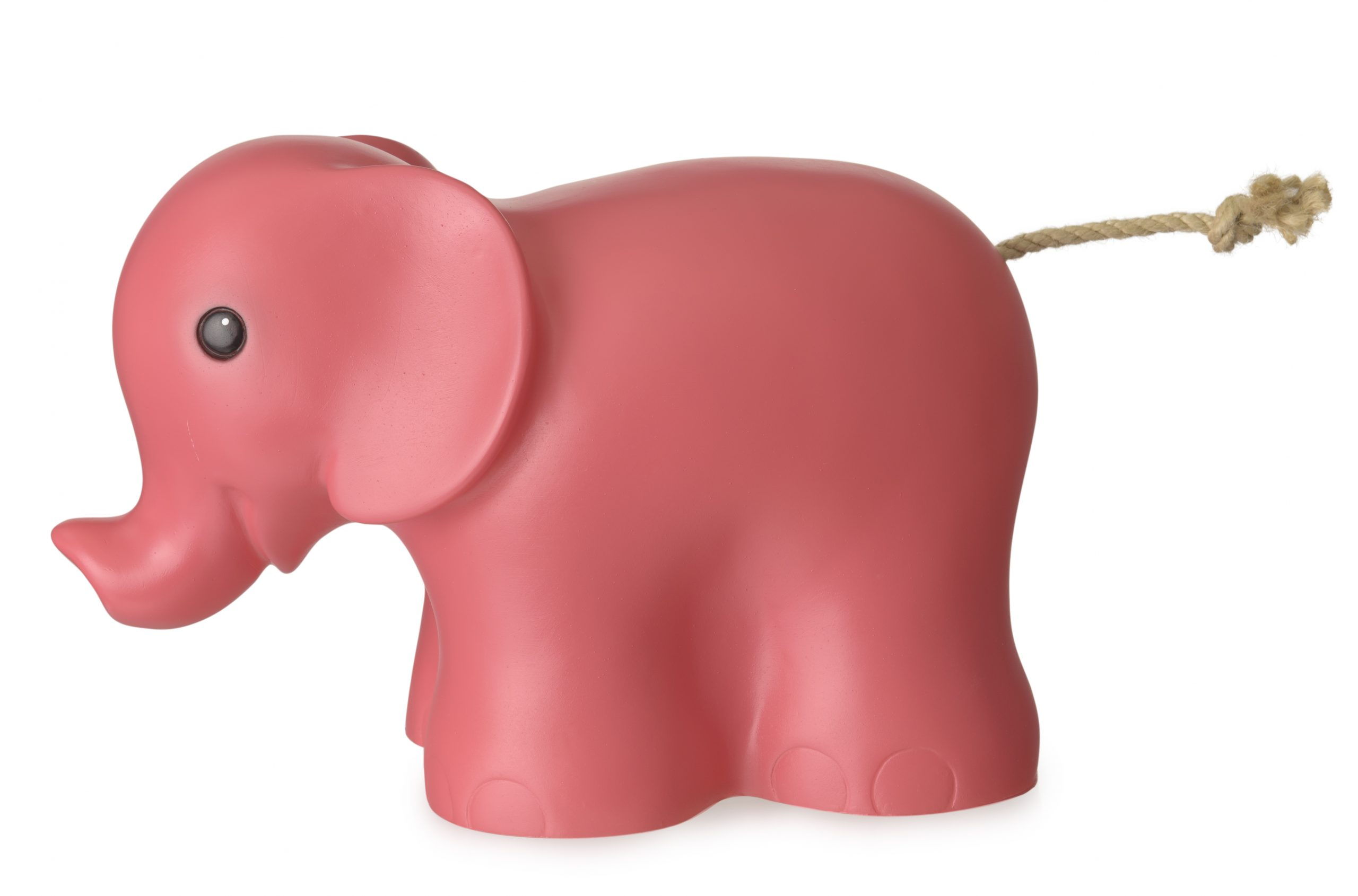 LAMP ELEPHANT RASPBERRY -PRE ORDER FOR NOV DELIVERY