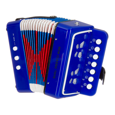 BUTTON ACCORDION BLUE