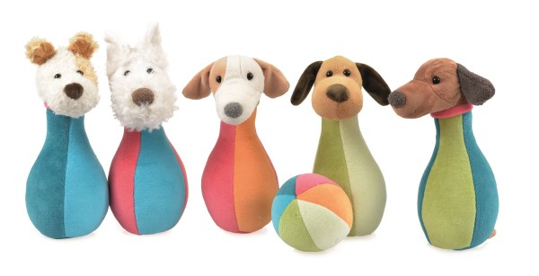 BOWLING GAME DOGS