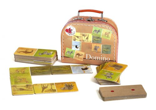 DOMINO Jungle picture & dots