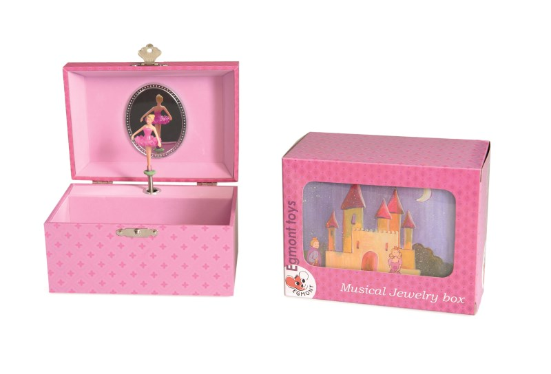 MUSICAL JEWELRY BOX PRINCESS