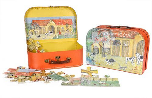 Puzzle in a Case  Farmyard