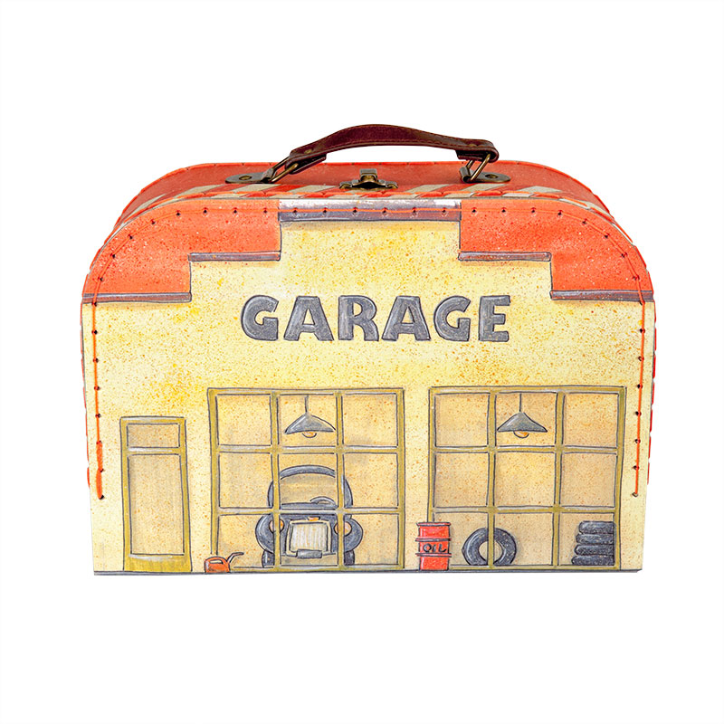 GARAGE SET in SUITCASE